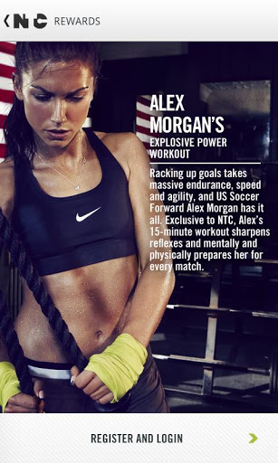 Alex Morgan Abs My sister introduced me to